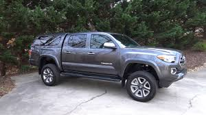 toyota tacoma tire size 2017 toyota tacoma with 3 lift on stock tires
