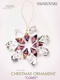 making swarovski crystal necklace images Diy swarovski crystal comet ornament free design and instructions png