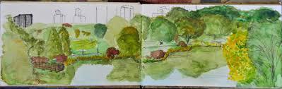new york city urban sketchers central park sketch crawl