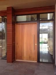 Exterior Wooden Door Contemporary Wood Doors Exterior Garage Doors Glass Doors