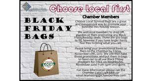 black friday shoppers 2017 black friday bags centralia chehalis chamber of commerce