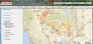 Usgs Wildfire Data by In Search Of Fire Maps U2013 Greeninfo Network
