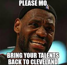 Meme Mo - when lebron james heard about mo williams 52 point game http