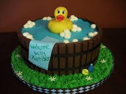 baby shower cake bathtub duck tub baby shower cake airbrush