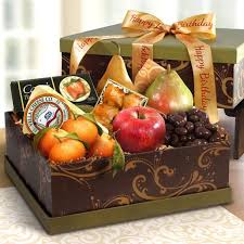 cheese gift box sonoma happy birthday fruit and cheese gift box ag1100b a gift