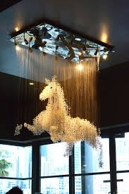 the most amazing horse chandelier ever horses pinterest