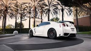 white nissan car nissan gtr r35 wallpapers group 90