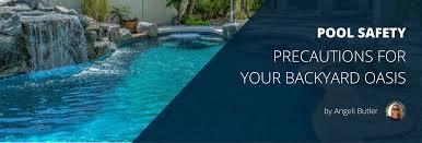 backyard pool safety underwater audio