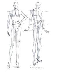 90 best fashion sketches body template how to draw images on