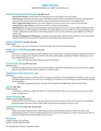 Game Designer Resume Resume U2014 Kate Oleary Design
