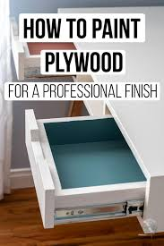 what is the best way to paint unfinished kitchen cabinets how to paint plywood the simple trick anika s diy