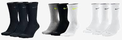 s crew socks nike