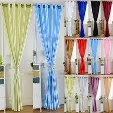 rideau porte cuisine simple style lumineux solide couleur fenêtre cuisine salon rideau