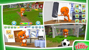 virtual pet simulator talking teddy is now globally available on