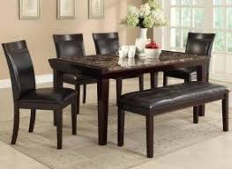 Dining Table Benches With Backs Foter