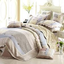 Patchwork Comforter King Bed Comforter Sets Chausub Bed Linens Cotton Quilt Set 4pc