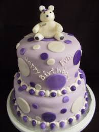 polka dot teddy bear birthday cake the twisted sifter