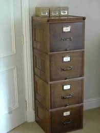 Vintage Oak Filing Cabinet One Of My Most Prized Possessions Is An Antique Wooden Filing