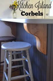 Kitchen Island Corbels Corbels For Kitchen Island Amazing After Marking The Centers Of