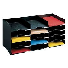 Desk Compartments Horizontal Desk Organizer 15 Compartments In File And Mail