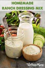 healthy ranch dressing mix recipe wellness mama