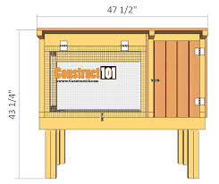 rabbit hutch plans step by step plans construct101