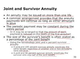 joint survivor annuity tables annuities and individual retirement accounts ppt video online download
