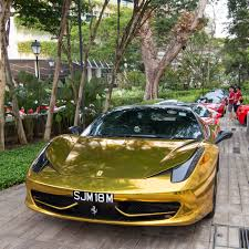maserati gold chrome gold chrome ferrari 458 italia madwhips