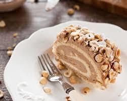 recettes de cuisine de noel recette bûche de noël praliné au chocolat
