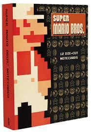 super mario bros 12 die u2013 cut notecards nintendo 9781419718120