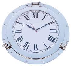 themed wall clock chrome decorative ship porthole clock 17 decorative clocks