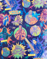 wars wrapping paper wars wrapping paper with jabba the hutt by hallmark