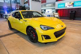 subaru yellow 2017 ottawa auto show 2017 subaru brz inazuma edition by