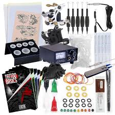 tattoo kit without machine mix wholesale rakuten rehab ink complete tattoo kit w 2 machines