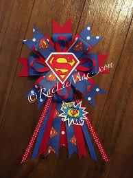 superman ribbon superman birthday corsage superman theme birthday party