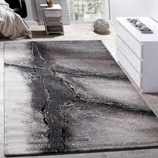 Wohnzimmer Grau Creme Edler Designer Teppich Wohnzimmer Natur Asphalt Optik Natur Braun
