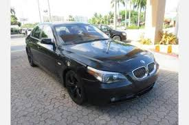 bmw 5 series for sale used used bmw 5 series for sale in miami fl edmunds