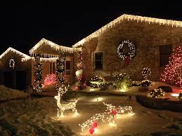 christmas light installation calgary christmas christmas putting up outdoor lights is easier with