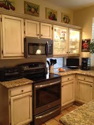 dark kitchen cabinets with light granite countertops kitchen appliances cream color kitchen cabinets with granite