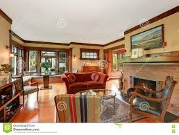 Classic Living Room by American Classic Living Room Interior Design Stock Photo Image