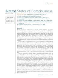 altered states of consciousness pdf download available