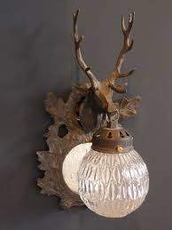 Chandelier Wall Lights Uk Stag Wall Lights With Globes The Vintage Chandelier Company