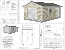 garage plan garage plans pdf dwg home building plans 74893