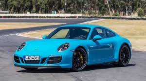 2018 blue porsche 911 gt3 awesome 500 hp engine sound and track 2017 porsche 911 gts road test review in lake tahoe
