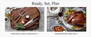 thanksgiving turkey recipe guide williams sonoma