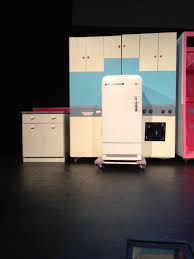 1950 u0027s style kitchen i designed for bye bye birdie all sides of
