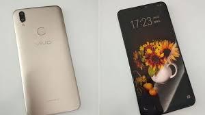Vivo V9 Vivo V9 Leaks Show An Iphone X Like Notch Dual Rear Cameras And