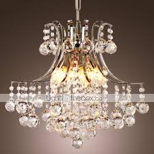 Crystal Chandeliers For Bedrooms Pendant Light Luxury Modern Crystal Living 6 Lights High Quality