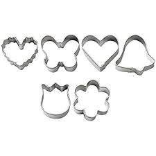 wilton mini metal cookie cutter set kitchen