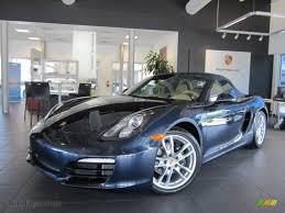Porsche Macan Dark Blue - 2013 porsche boxster in dark blue metallic 114732 auto jäger